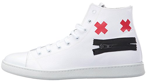 Marc Jacobs Men's Canvas Zip Face Fashion Sneaker (41 EU/8 US/7 - Marc By Marc Uk Jacobs