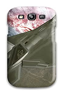 Tpu Protector Snap Lockheed Martin F-22 Raptor Case Cover For Galaxy S3