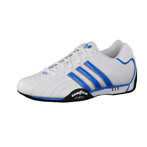 adidas Originals goodyear adi racer trainers white   blue D65636  UK 11.5    Amazon.co.uk  Shoes   Bags eb8b696d92