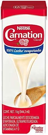 Carnation, Leche Evaporada Tetra Pack, 1 Lt