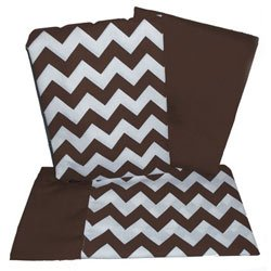 Delicieux Chevron Rocking Chair Cushion   Color: Brown