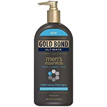 Gold Bond Ultimate Mens Essentials Intensive Therapy Hydrating Lotion 13 oz. (Pack of 3)