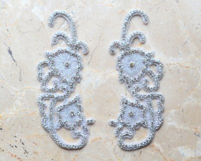 Dionysus Matching Rhinestone Applique by Shinetrim