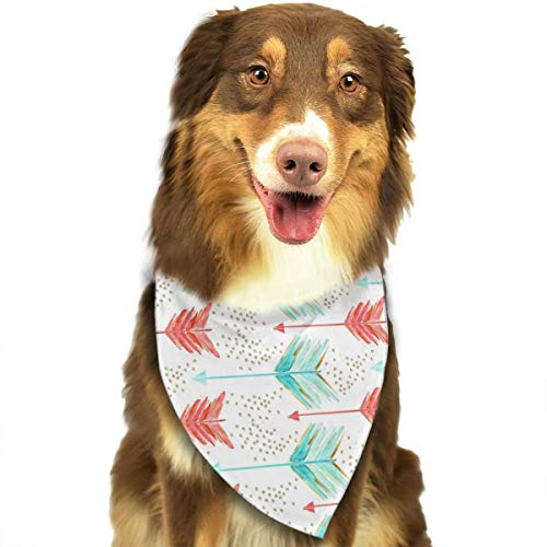 OURFASHION Arrows A Water Bandana Triangle Bibs Scarfs Accessories for Pet Cats and Puppies -