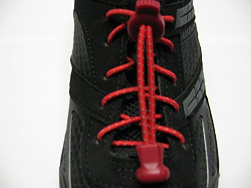 No Tie Shoelaces - for Athletes - Triathlon Runners - Kids Sneakers - Hikers Boots - Seniors - Toddlers - Adults...