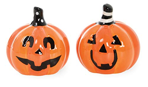 Boston International Witchy World Salt and Pepper Shakers, Set of 2, Jack O'Lantern]()