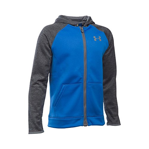 Under Armour Boys' Storm Armour Fleece Full Zip Hoodie, Ultra Blue (907), Youth X-Large