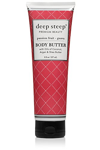 Deep Steep Body Butter (Passion Fruit Guava, 8 Ounce)