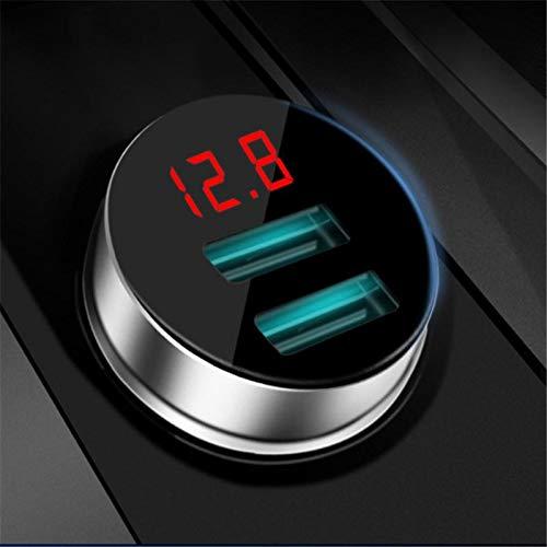 TXDIRECT Caricatore USB per Auto 2 Porte USB Charger Car Wireless Anker Adattatore Rapido Caricabatterie da Doppio di Ancoraggio Auto