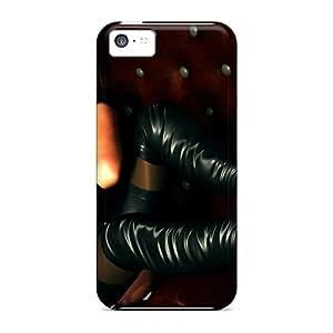 Sig8395wGUU Lady In Black Durable Iphone 5c Cases