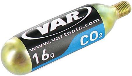 Var VR44200 - Bombona Co2 16grs.con Rosca: Amazon.es: Deportes y ...