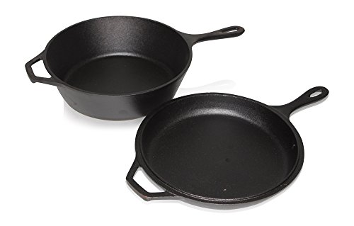 Ultimate pre seasoned in cast iron combo cooker by