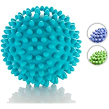 Spiky Massage Ball - Deep Tissue Foot Massager - Lacrosse Balls with Spike to Improve Reflexology and Mobility - Trigger Point Roller for Myofascial Release and Plantar Fasciitis