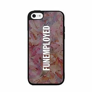 Funemployed- Plastic Phone Case Back Cover iPhone 5c wangjiang maoyi
