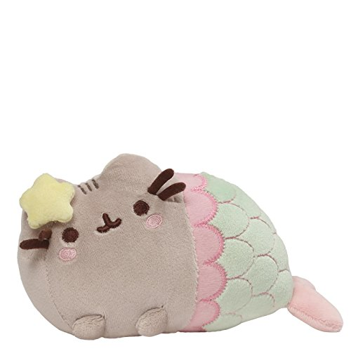 GUND Pusheen Star Mermaid Stuffed Animal Cat Plush, 7