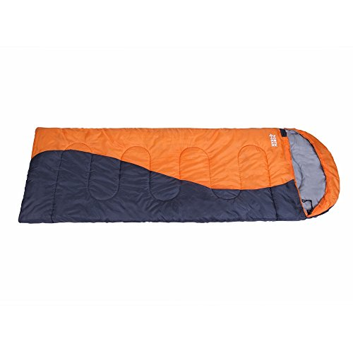 North Gear Sleeping Bag with Hood - Ultralight For Backpacking, Camping, Hiking, Travel- 3 Season lightweight Compact bag with Compression Sack by North Gear