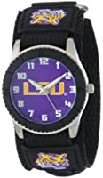 Game Time Unisex COL-ROB-LSU Rookie Black Watch - Louisiana State by Game Time