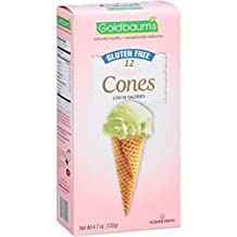 Goldbaums Ice Cream Cones - Sugar Cones - 4.7 Oz - Case Of 12
