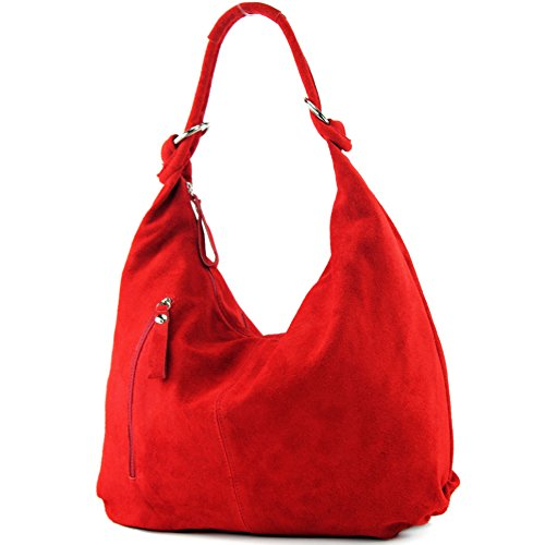 Italy tote donna Made Rosso Borsa fAfwR