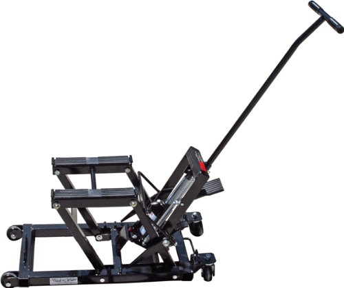 Hydraulic Motorcycle Lift Truck : Hydraulic motorcycle and atv lift jack lb capacity