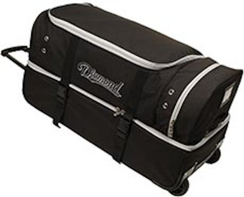 Diamond Sports Umpire Gear Bag with Wheels, 30-Inch