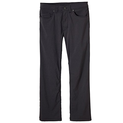 prAna Men's Brion 32'' Inseam Jeans, Charcoal, 38 by prAna