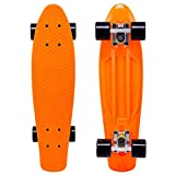 Cal 7 Complete Mini Cruiser   22 Inch Micro Board   Vintage Skateboard for School and Travel (Monarch)