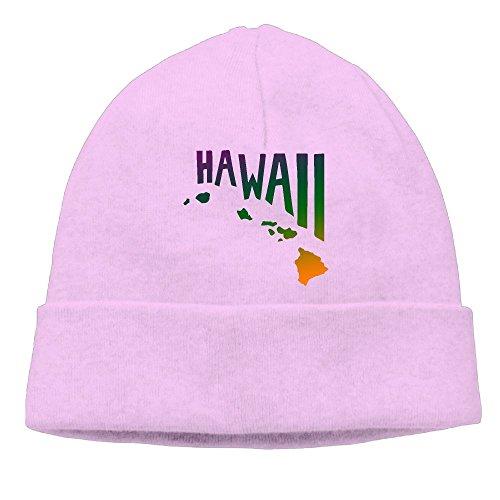 Unisex Hawaiian Islands Soft Skull Cap