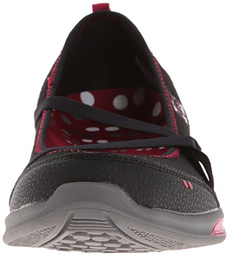 Metallic Maroon Slip Women's Emotion Ryka Steel Black On Grey Bright nR0YnUqx