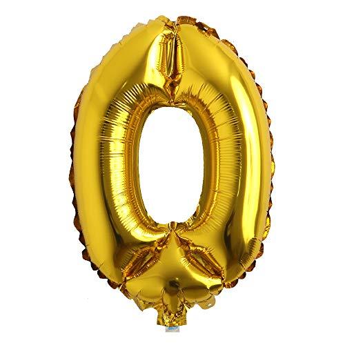 Mylar Number Balloons (16