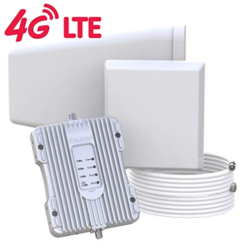 SolidRF-Cell Phone-Booster Buildingforce 4G Kit Cell Phone-Signal-Booster for Home Office All Carriers Supports 5000 SQ Ft (Best Cell Phone Carrier)