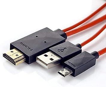 Cable adaptador HDMI para smartphone Samsung Galaxy S3/S4/S5/Note ...