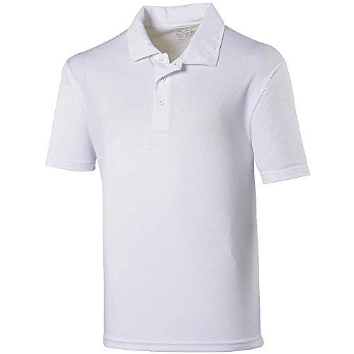 AWDis Cool Herren Poloshirt Weiß Arctic White