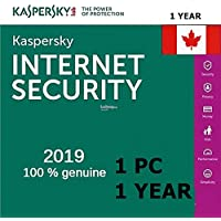 Kaspersky Internet security 2020 1 year 1 computer (Download only)