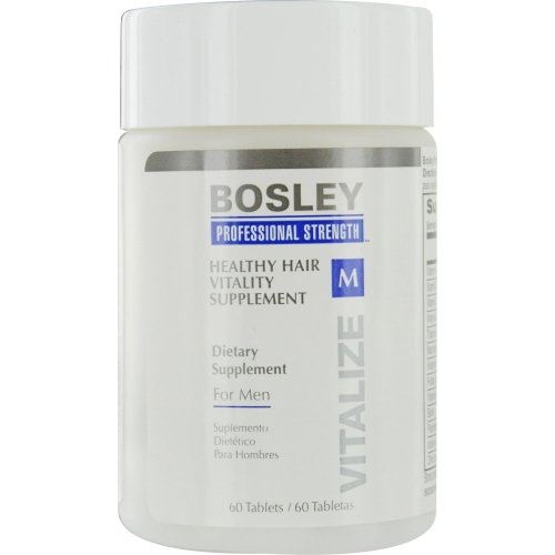 Bosley Professional Strength Hair Supplement for Men, 60 ct.