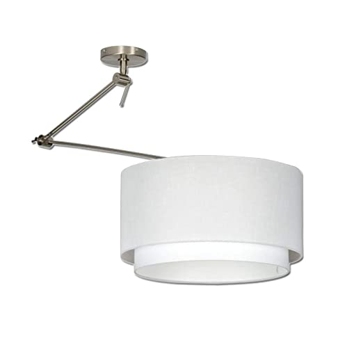 ronda lámpara de techo paño luz pendiente luz de techo 1- llama ...