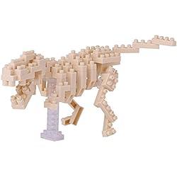 Nanoblock dinosaurio Building Kit, esqueleto de tiranosaurio rex