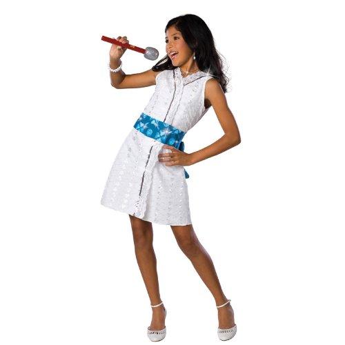 GABRIELLA STAR DAZZLE CHLD LRG (Gabriella High School Musical Costume)