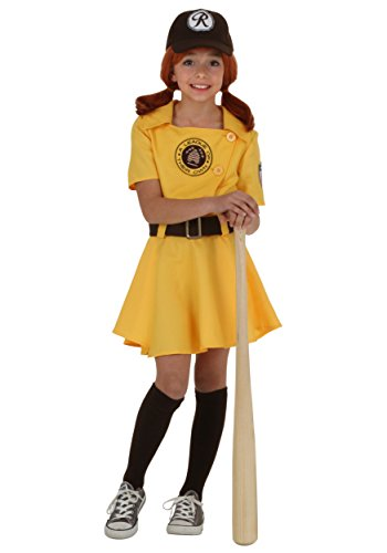 Awesome Costumes Kids (Girls A League of Their Own Kit Costume -)
