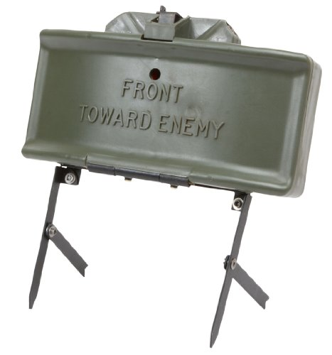 M18a1 Airsoft Claymore Mine W/ Wireless Remote, Spring Loaded