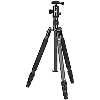 "Sirui T-024X 54"" Carbon Fiber Tripod with C-10X Ball Head & Case (Black)"