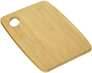 Lipper International 849 Bamboo Thin Cutting Board Set, Two 6 by 8-Inch Boards