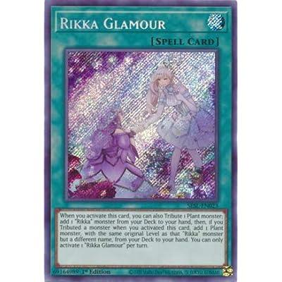 Rikka Glamour - SESL-EN023 - Secret Rare - 1st Edition: Toys & Games
