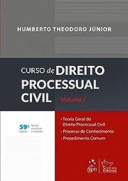 Curso de direito processual civil - Volume 1