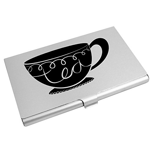 Business Credit Wallet Azeeda Holder Business Card CH00008602 'Teacup' Azeeda 'Teacup' Card Holder Card wxUqSfnY