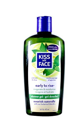 Bath & Shower Gel Early To Rise Wild Mint & Citrus - 16 oz (Citrus Mint Gel Shower)
