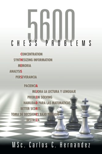 5600 Chess problems  [Hernandez, Carlos] (Tapa Blanda)