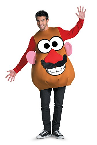 [16828 (XL 42-46) Mr/Mrs Potato head] (Mr Potato Head Costumes For Adults)