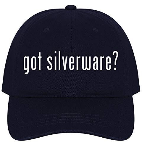 The Town Butler got Silverware? - A Nice Comfortable Adjustable Dad Hat Cap, Navy