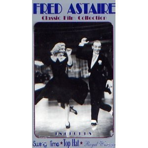 Fred Astaire: Swing Time / Top Hat / Royal Wedding [VHS]